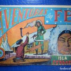 Tebeos: TEBEO - COMIC - AVENTURAS DEL FBI - LA ISLA DE LOS LEPROSOS - ROLLAN - Nº 52. Lote 92236045
