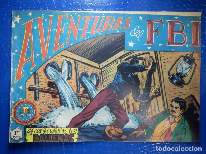 TEBEO - COMIC - AVENTURAS DEL FBI - EL CEMENTERIO DE LAS BALLENAS - ROLLAN - Nº 56 (Tebeos y Comics - Rollán - FBI)