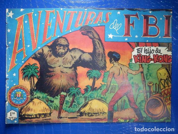 TEBEO - COMIC - AVENTURAS DEL FBI - EL HIJO DE KING-KONG- ROLLAN - Nº 57 (Tebeos y Comics - Rollán - FBI)