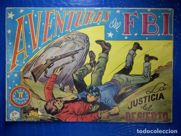 TEBEO - COMIC - AVENTURAS DEL FBI - LA JUSTICIA DEL DESIERTO - ROLLAN - Nº 57 (Tebeos y Comics - Rollán - FBI)