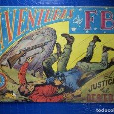 Tebeos: TEBEO - COMIC - AVENTURAS DEL FBI - LA JUSTICIA DEL DESIERTO - ROLLAN - Nº 57. Lote 92236435