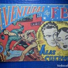 Tebeos: TEBEO - COMIC - AVENTURAS DEL FBI - ALAS DE CUERVO - ROLLAN - Nº 41. Lote 92236455
