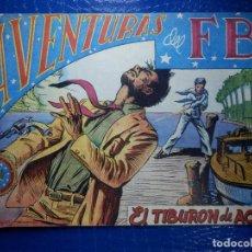 Tebeos: TEBEO - COMIC - AVENTURAS DEL FBI - EL TIBURON DE ACERO - ROLLAN - Nº 37. Lote 92236520