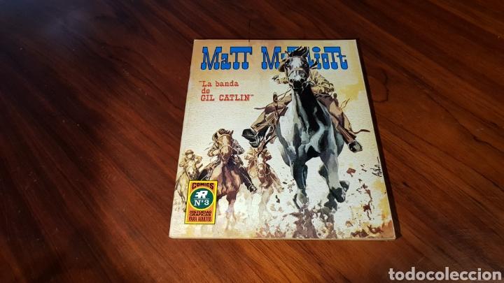 MATT MARRIOT 3 EXCELENTE ESTADO ROLLAN (Tebeos y Comics - Rollán - Otros)