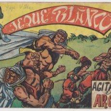 Tebeos: JEQUE BLANCO Nº 14. ROLLÁN 1951.. Lote 93073435