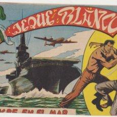 Tebeos: JEQUE BLANCO Nº 26. ROLLÁN 1951.. Lote 93073980
