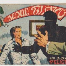 Tebeos: JEQUE BLANCO Nº 105. ROLLÁN 1951.. Lote 93074330
