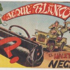 Tebeos: JEQUE BLANCO Nº 107. ROLLÁN 1951.. Lote 93074540