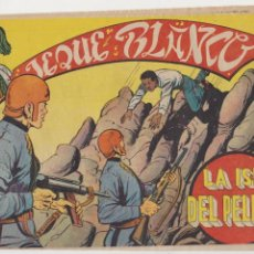 Tebeos: JEQUE BLANCO Nº 125. ROLLÁN 1951.. Lote 93074945