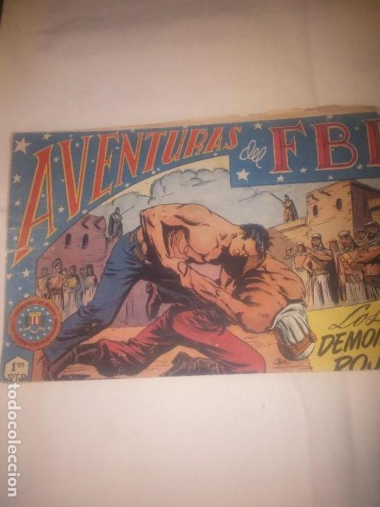 AVENTURAS DEL FBI N° 36 EL ESTADO ES USADO (Tebeos y Comics - Rollán - FBI)