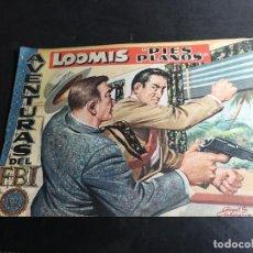 Tebeos: AVENTURAS DE FBI Nº 180 LOOMIS PIES PLANOS (ORIGINAL ED. ROLLAN) (COI31). Lote 94813047