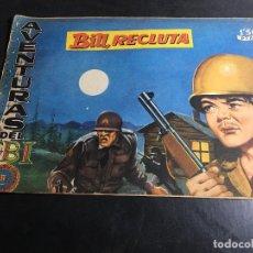 Tebeos: AVENTURAS DE FBI Nº 167 BILL, RECLUTA (ORIGINAL ED. ROLLAN) (COI31). Lote 94814087