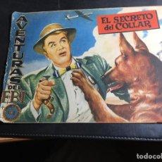 Tebeos: AVENTURAS DE FBI Nº 166 EL SECRETO DEL COLLAR (ORIGINAL ED. ROLLAN) (COI31). Lote 94814215
