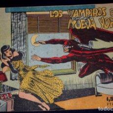 Tebeos: AVENTURAS DEL FBI. Nº 11. LOS VAMPIROS DE NUEVA YORK.(ORIGINAL). Lote 95397859