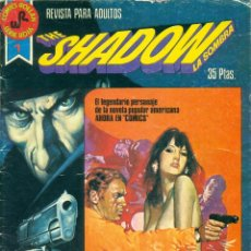 Tebeos: THE SHADOW Nº 1-2-3-4 ROLLAN SERIE ROJA AÑO 1.977. Lote 95595087
