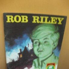 Tebeos: ROB RILEY Nº 10. EL HIJO DEL COBARDE. SERIE ROJA. EDITORIAL ROLLAN. Lote 95742423