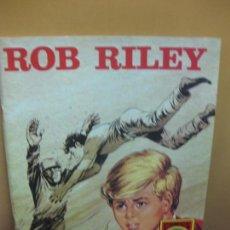 Tebeos: ROB RILEY Nº 2. SANGRE HOLANDESA. SERIE ROJA. EDITORIAL ROLLAN. Lote 95742471