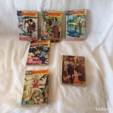Tebeos: COLECCION GANGSTERS EDITORIAL ROLLAN N 1-3-8-7-11. Lote 98395927