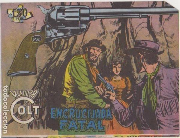 MENDOZA COLT Nº 85. EDITORIAL ROLLÁN 1955. (Tebeos y Comics - Rollán - Mendoza Colt)