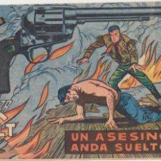 Tebeos: MENDOZA COLT Nº 110. EDITORIAL ROLLÁN 1955. DIFICIL.... Lote 99678755