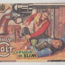 Tebeos: MENDOZA COLT Nº 77. EDITORIAL ROLLÁN 1955.. Lote 99680955