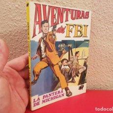 Giornalini: COMIC TEBEO Nº 1 AVENTURAS DEL FBI LA PANTERA DE MICHIGAN EDITORIAL ROLLAN 1974. Lote 100095719