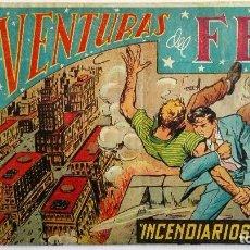 TEBEO AVENTURAS DEL F.B.I., Nº 163, INCENDIARIOS