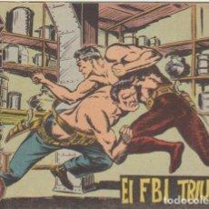Tebeos: FBI Nº 13. ROLLÁN 2ª EDICIÓN. 1958.. Lote 100702779