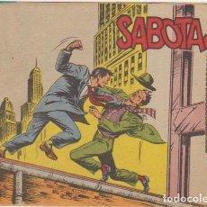 Tebeos: AVENTURAS DEL FBI 2ª Nº 3. ROLLÁN 1958.. Lote 100706399