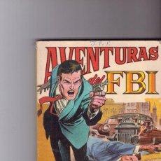 Tebeos: AVENTURAS DEL FBI Nº 2 FORMATO DE 120 PAG. Lote 101566495