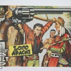 Tebeos: CÓMIC MENDOZA COLT / LOCO APACHE Nº 53 - EDICIONES ROLLAN - AÑO 1958. Lote 102192575