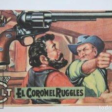Tebeos: CÓMIC MENDOZA COLT / EL CORONEL RUGGLES Nº 64 - EDICIONES ROLLAN - AÑO 1958. Lote 102193083