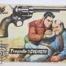 Tebeos: CÓMIC MENDOZA COLT / TRAGEDIA EN EL DESIERTOL Nº 66 - EDICIONES ROLLAN - AÑO 1958. Lote 102194143