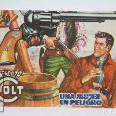 Tebeos: CÓMIC MENDOZA COLT / UNA MUJER EN PELIGRO Nº 78 - EDICIONES ROLLAN - AÑO 1959. Lote 102196971