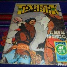 Tebeos: TEXAS JACK Nº 9 SERIE AZUL Nº 19. EL ORO DE LA NAVIDAD. ROLLÁN 1973. 25 PTS. DIFÍCIL.. Lote 102579895