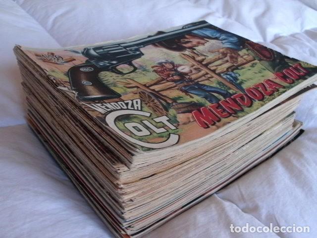 MENDOZA COLT ORIGINAL COLECCION COMPLETA (Tebeos y Comics - Rollán - Mendoza Colt)