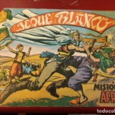Tebeos: 'JEQUE BLANCO', Nº 1 MISIÓN EN AFRICA ORIGINAL. . Lote 103931267