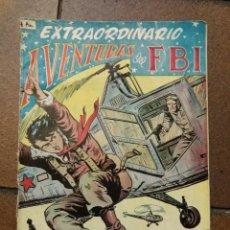 Tebeos: TEBEO CÓMIC AVENTURAS DE FBI EXTRAORDINARIO Nº2 TERROR EN EL FBI ED. ROLLAN. Lote 103932183