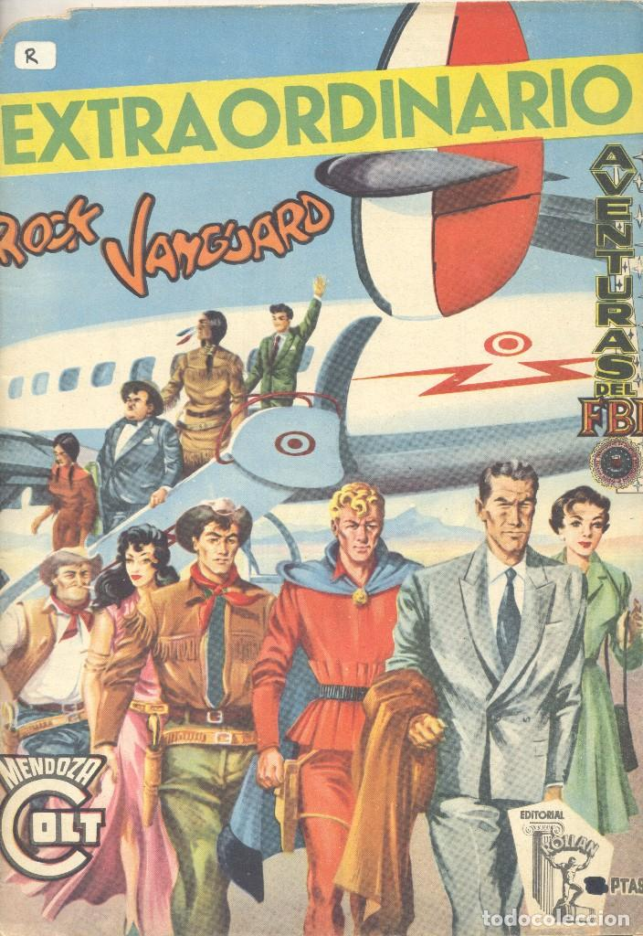 EXTRAORDINARIO ROCK VANGUARD, AVENTURAS DEL FBI, MENDOZA COLT. (Tebeos y Comics - Rollán - Rock Vanguard)