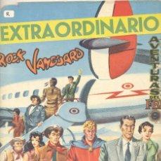 Tebeos: EXTRAORDINARIO ROCK VANGUARD, AVENTURAS DEL FBI, MENDOZA COLT.. Lote 104093251