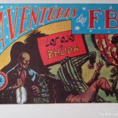 Tebeos: AVENTURAS DEL F.B.I. Nº 42 LOS HOJOS DE BHUDA ORIGINAL MUY BUEN ESTADO. Lote 104547403