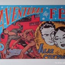 Tebeos: AVENTURAS DEL F.B.I. Nº 41 ALAS DE CUERVO ORIGINAL MUY BUEN ESTADO. Lote 104547507