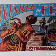 Tebeos: AVENTURAS DEL F.B.I. Nº 37 EL TIBURON DE ACERO ORIGINAL MUY BUEN ESTADO. Lote 104547579