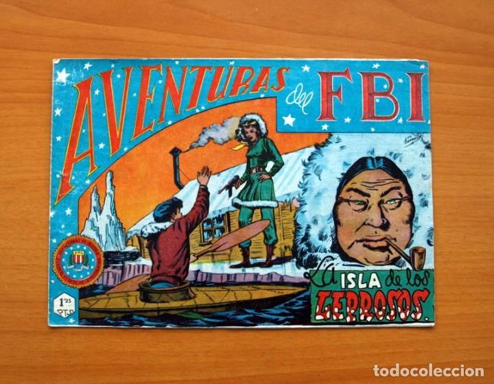 AVENTURAS DEL FBI - Nº 52, LA ISLA DE LOS LEPROSOS - EDITORIAL ROLLAN 1951 - TAMAÑO 17X24 (Tebeos y Comics - Rollán - FBI)