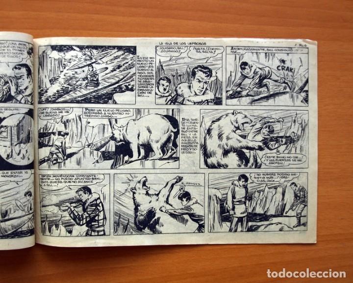 Tebeos: Aventuras del FBI - nº 52, La isla de los Leprosos - Editorial Rollan 1951 - Tamaño 17x24 - Foto 3 - 104617279