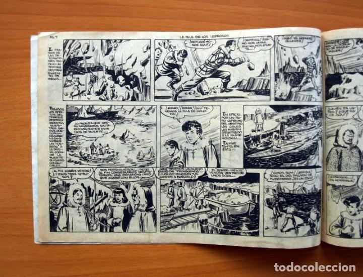 Tebeos: Aventuras del FBI - nº 52, La isla de los Leprosos - Editorial Rollan 1951 - Tamaño 17x24 - Foto 4 - 104617279