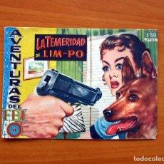 Tebeos: AVENTURAS DEL FBI - Nº 168, LA TEMERIDAD DE LIM-PO - EDITORIAL ROLLAN 1951 - TAMAÑO 16X23. Lote 104617547
