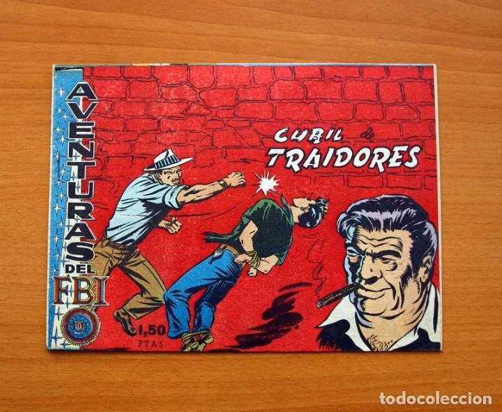 AVENTURAS DEL FBI 2ª EPOCA - Nº 15, CUBIL DE TRAIDORES - EDITORIAL ROLLAN 1958 - TAMAÑO 16X22 (Tebeos y Comics - Rollán - FBI)