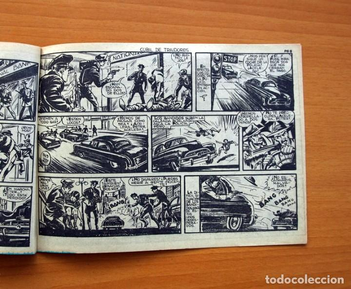 Tebeos: Aventuras del FBI 2ª epoca - nº 15, Cubil de traidores - Editorial Rollan 1958 - Tamaño 16x22 - Foto 5 - 104617791