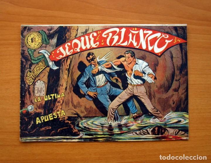 EL JEQUE BLANCO - Nº 106, LA ÚLTIMA APUESTA - EDITORIAL ROLLAN 1951 - TAMAÑO 17X24 (Tebeos y Comics - Rollán - Jeque Blanco)